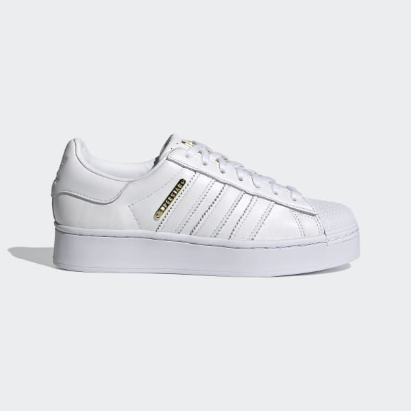 adidas superstar bold blanche