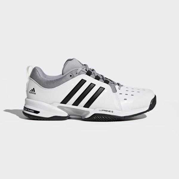 18b51f8d217 adidas Barricade Classic Wide 4E Shoes - White | adidas US