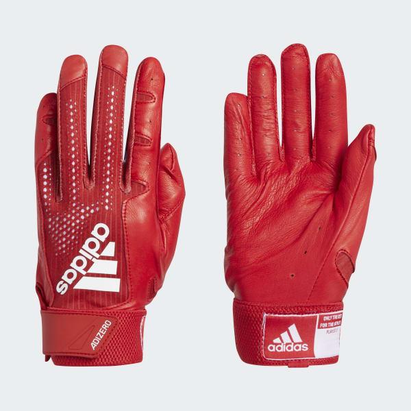 adidas Adizero 4.0 Batting Gloves - Red