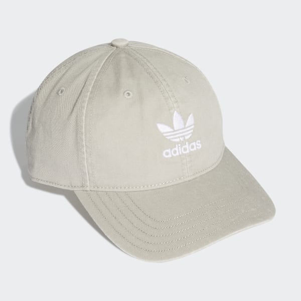 213966647c627 Gorra Washed Adicolor - Gris adidas
