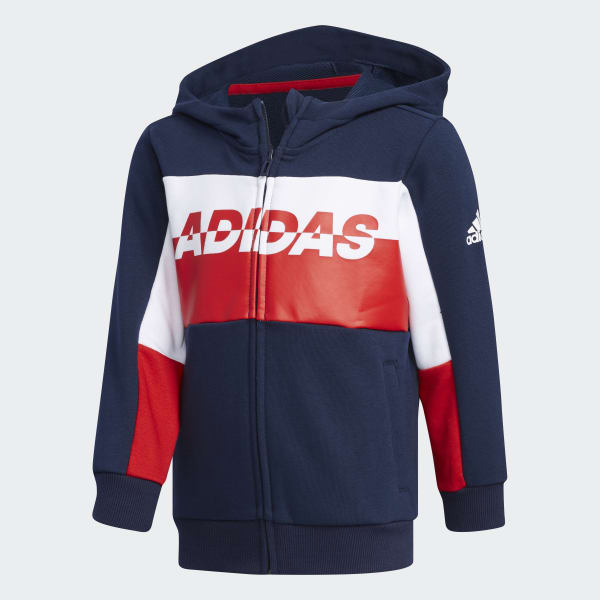 adidas Football Trainingsjacke Blau | adidas Switzerland