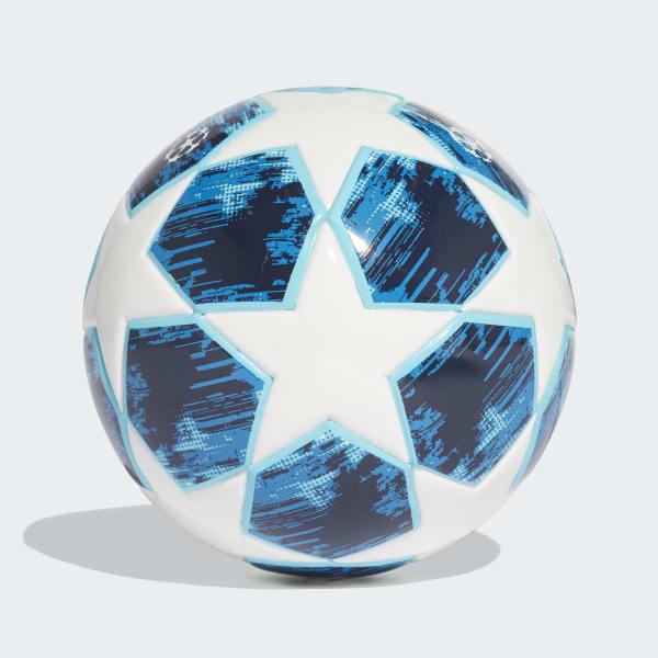 adidas Mini balón (FOAM CORE) Finale 18 - Blanco  0125e788f210f
