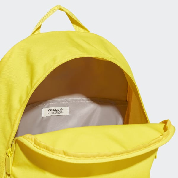 Mochila Adidas Adicolor Amarela nas Lojas