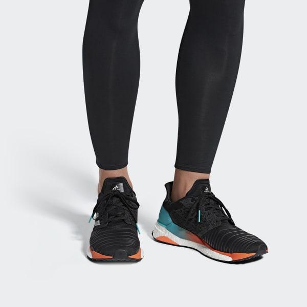 adidas SolarBOOST Schuh - schwarz   adidas Austria