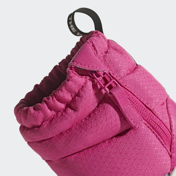 508c2d43 adidas RapidaSnow Beat the Winter Boots - Pink | adidas Ireland