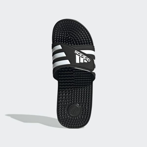 adidas Adissage Slides - Black   adidas