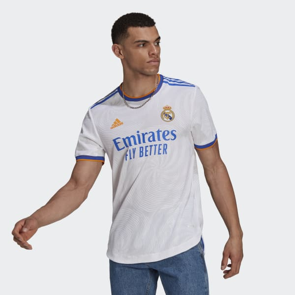 Real Madrid 21/22 Home Authentic Jersey