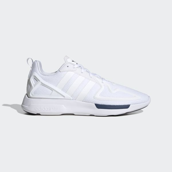 adidas zx flux white mens size 9