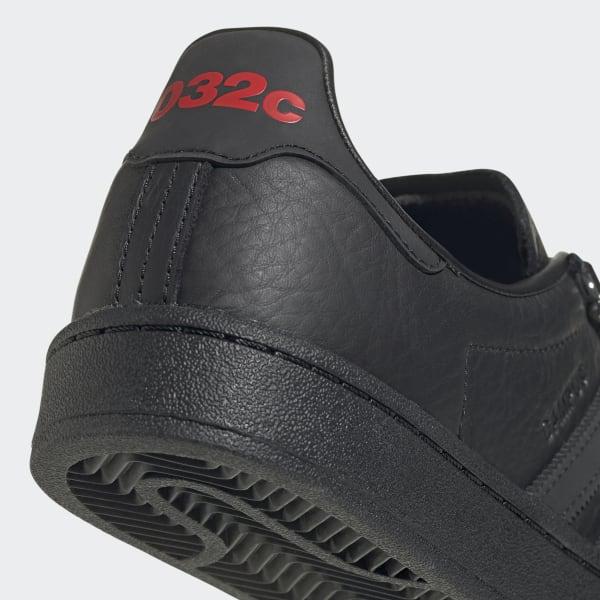adidas 032C Campus Shoes - Black