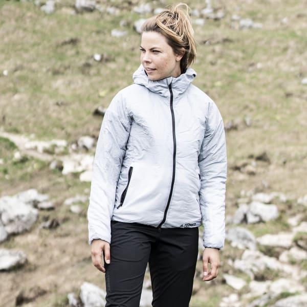 Veste à capuche Terrex Windweave Insulated Gris adidas | adidas France