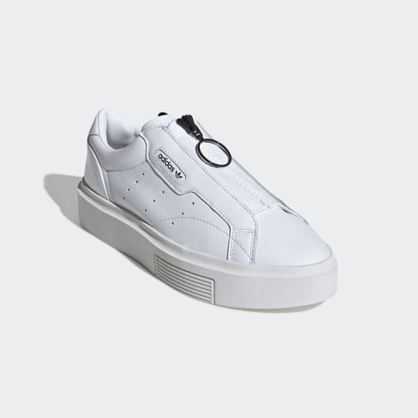 adidas Sleek Super Schuh Weiß | adidas Austria