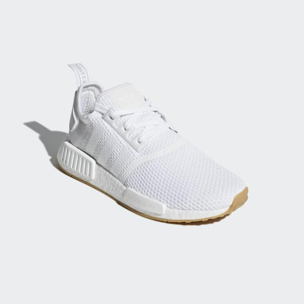 all white adidas nmd