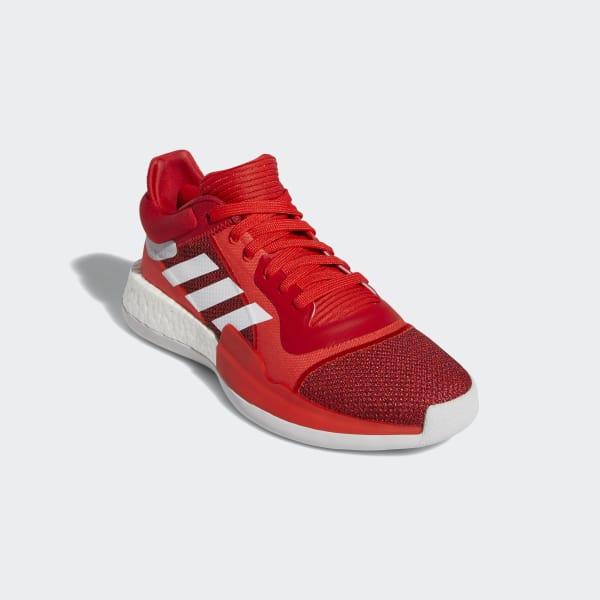 adidas Marquee Boost Low Shoes Red | adidas Malaysia