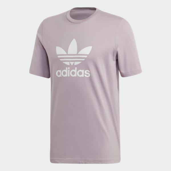 adidas Originals Trefoil T Shirt für Herren Lila