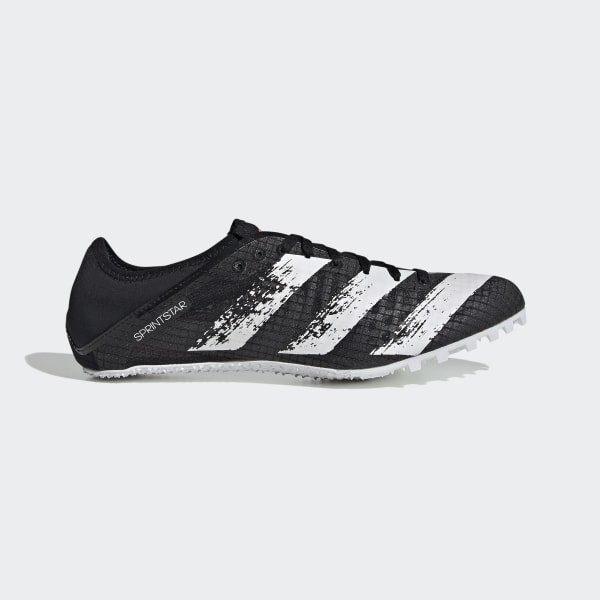 adidas Sprintstar Spikes - Black