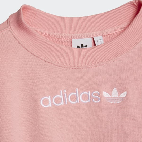 adidas Originals Side Tape Cropped Sweatshirt | Sneakers