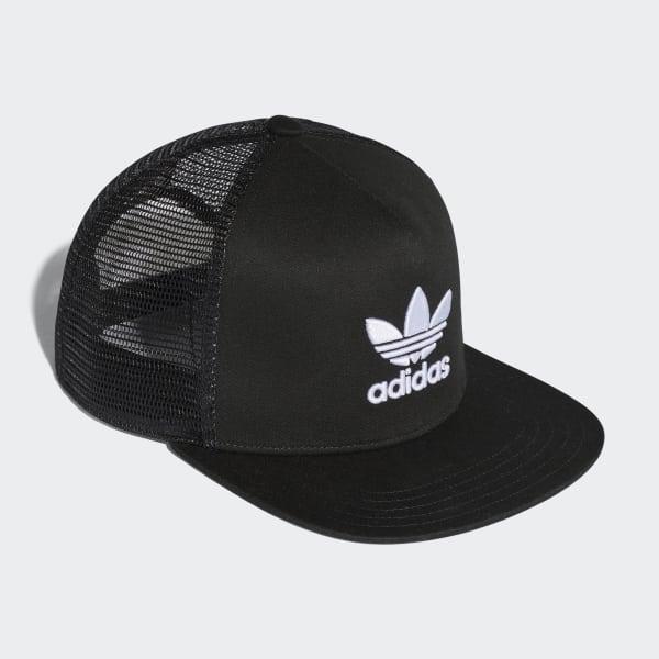 00ea46dda45f adidas Gorra Trucker Trifolio - Negro | adidas Colombia