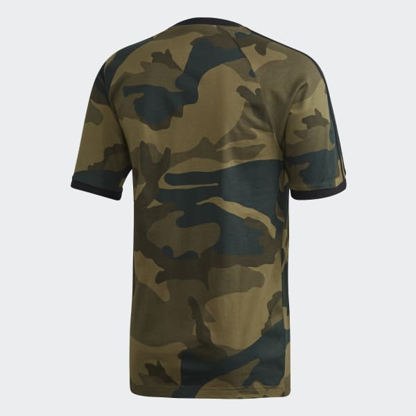 adidas Camouflage T Shirt Schwarz | adidas Austria