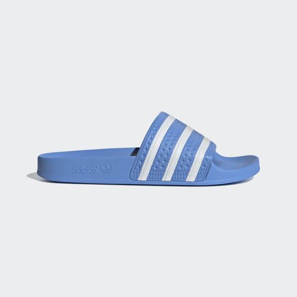 Adidas Originals Adilette Sandal (AdiBlueWhite)