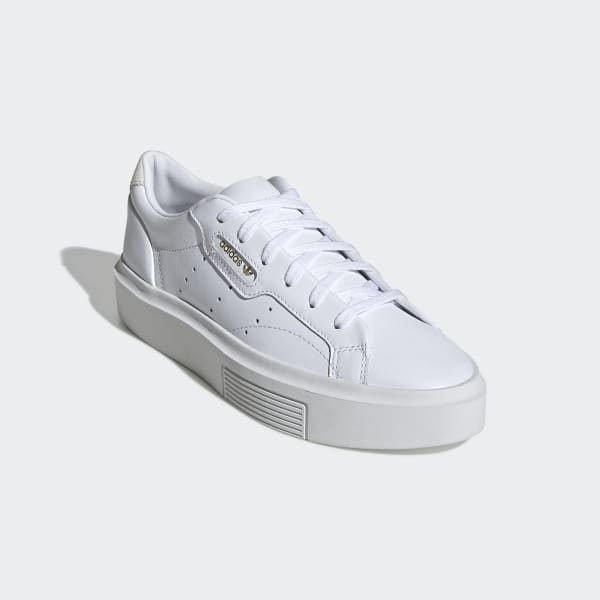 adidas Originals Sleek trainers in white
