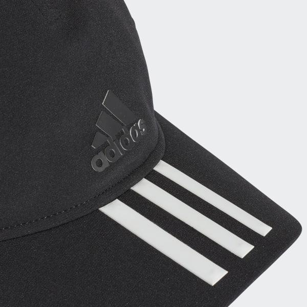 adidas Gorra C40 3 Franjas Climalite - Negro  d5495567bbf
