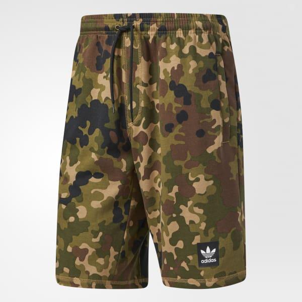 d981144706721 adidas Uncamo Sweat Shorts - Green   adidas US