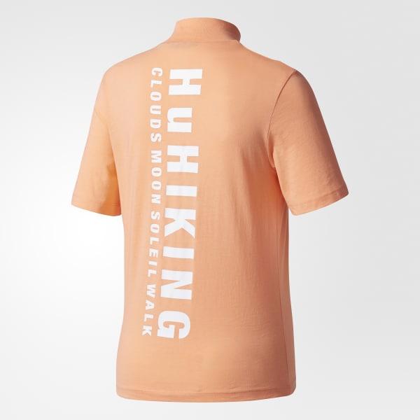 Women's Pharrell Williams Hu Hiking Logo Tee