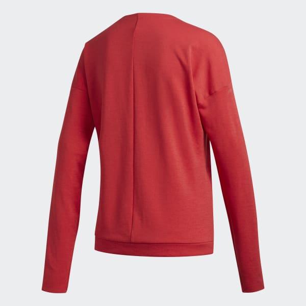 adidas Supernova Run Cru Sweatshirt Rot   adidas Austria