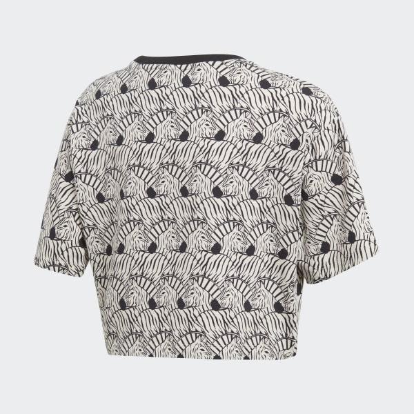 Zebra Crop T-shirt