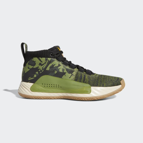 adidas Dame 5 Shoes - Green | adidas US