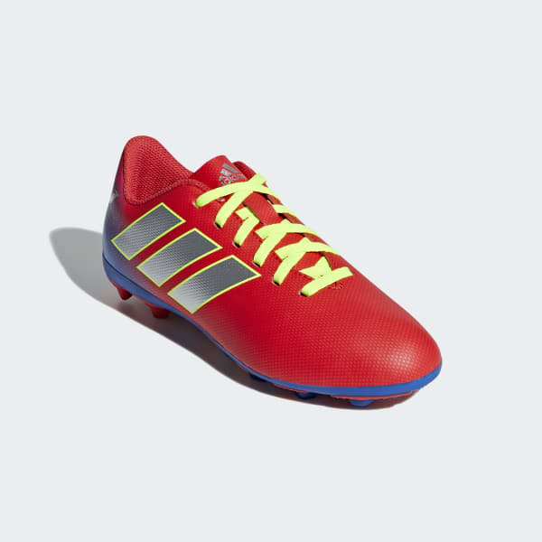 Zapatos de Fútbol NEMEZIZ MESSI 18.4 FxG J
