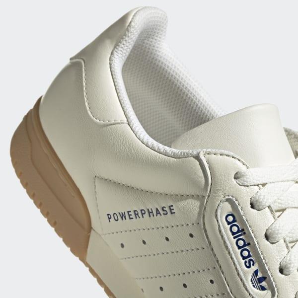 adidas Originals POWERPHASE Joggesko offwhitedark blue