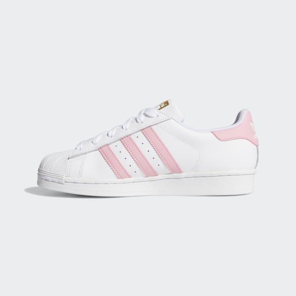 Nosotros mismos Salida hacia esquema  Kids Superstar Cloud White and Light Pink Shoes | adidas US