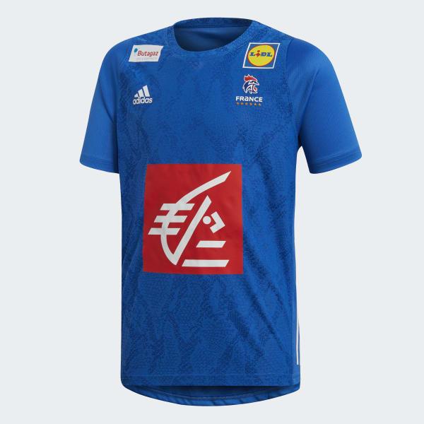 d5832b65e adidas French Handball Federation Replica Jersey - Blue