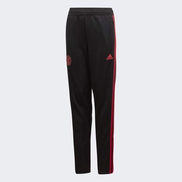 Pantalón entrenamiento Manchester United Negro adidas | adidas España