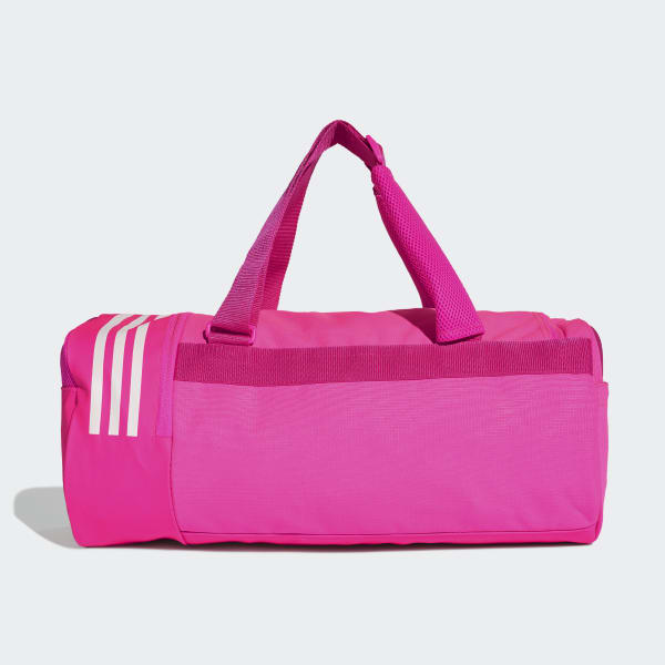 e6b05e914d adidas Convertible 3-Stripes Duffel Bag Small - Pink