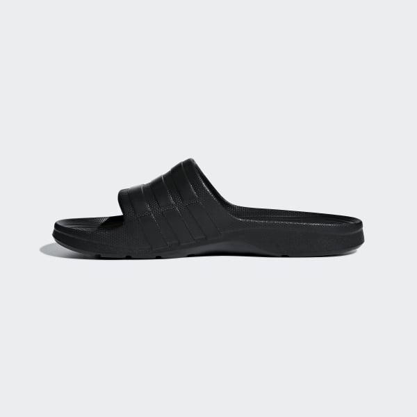 watch 87513 552e6 adidas Duramo Slides - Black  adidas Canada