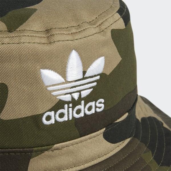 8268f6e1 adidas Camo Bucket Hat - Green | adidas US