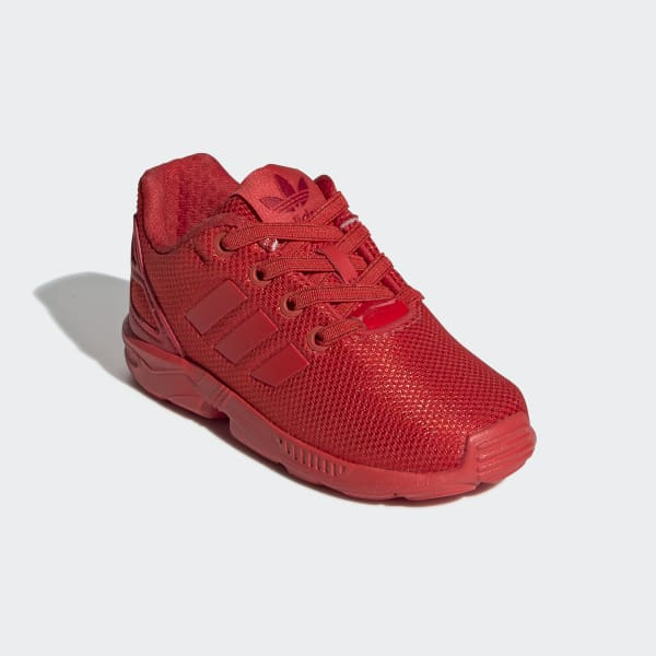 adidas ZX Flux Shoes - Red | adidas US