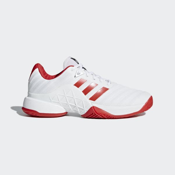 adidas Sapatos Barricade 2018 Branco | adidas MLT