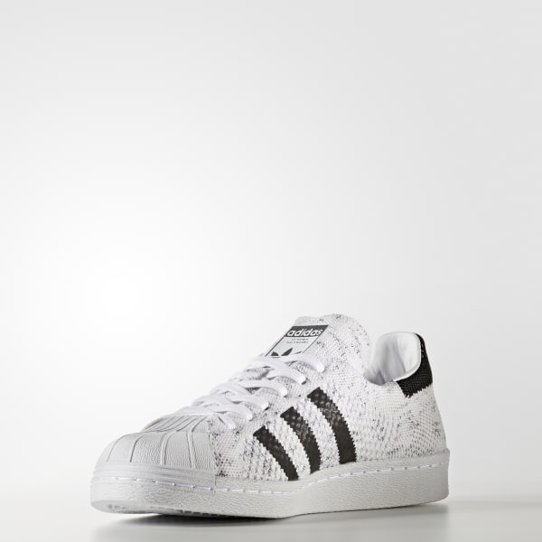 adidas Femmes Superstar 80s Primeknit Shoes White | adidas Canada