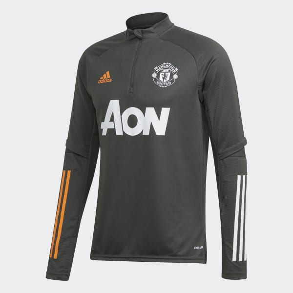 Adidas Manchester United Training Top Green Adidas Us
