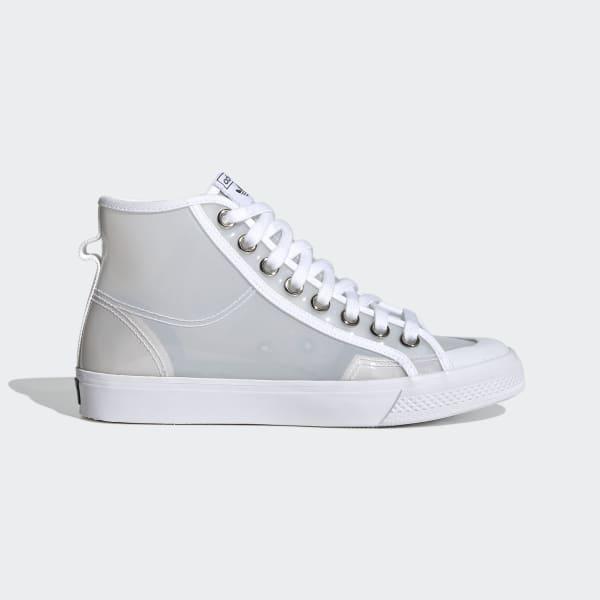 adidas Nizza Hi Jelly Shoes - White