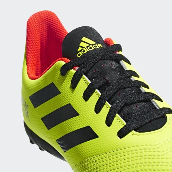 adidas Calzado de fútbol Predator Tango 18.4 Césped Artificial Niño -  Amarillo  11bef2e64490b