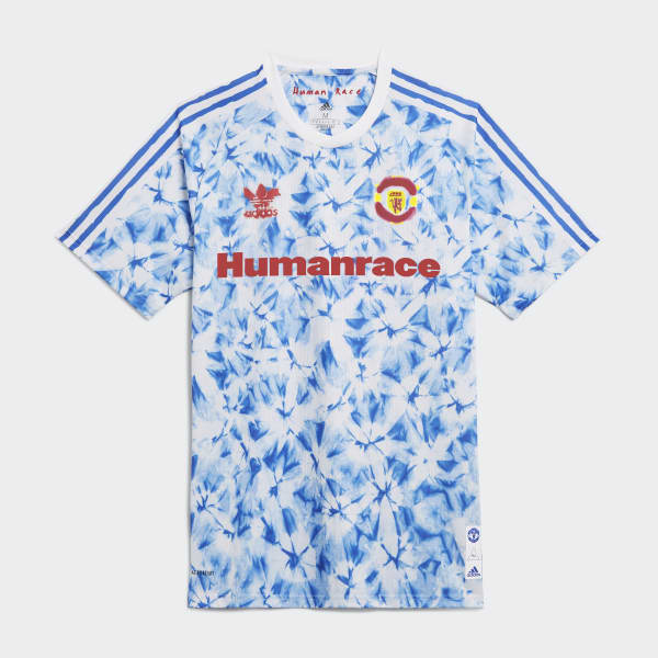 adidas manchester united human race jersey white adidas malaysia manchester united human race jersey
