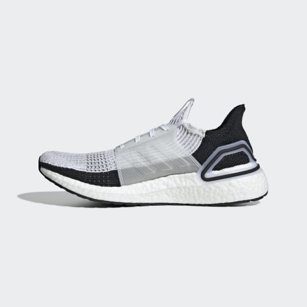 Adidas Originals Ultraboost 19 in Cloud White//Core Black B37707 Free Shipping