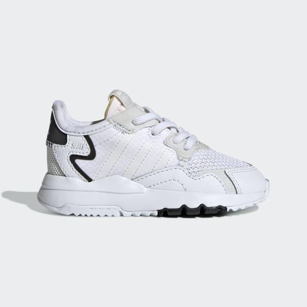 buscar Boda para ver  adidas Nite Jogger Shoes - White   adidas US