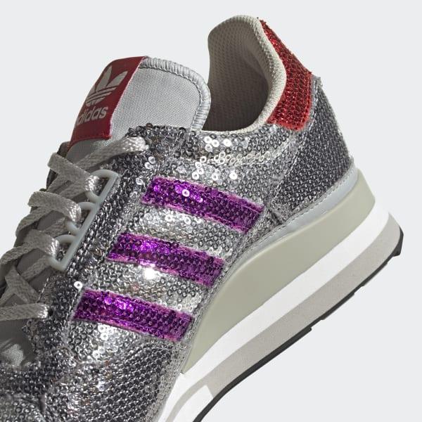 adidas ZX 500 Shoes - Grey   FY4824   adidas US