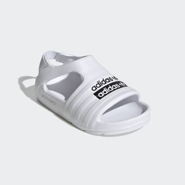 adidas Adilette Play Slides - White