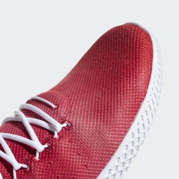 best service 2a53a e23b9 adidas Tenis Pharrell Williams Hu - Rojo   adidas Colombia